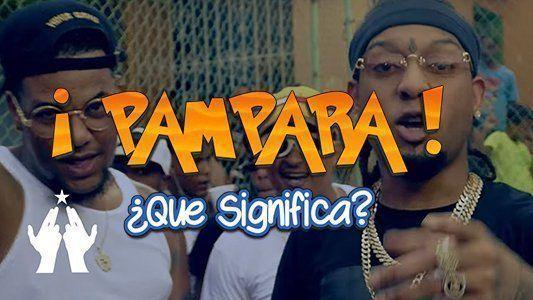 Significado de Pampara