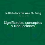 Significado y Traducciones
